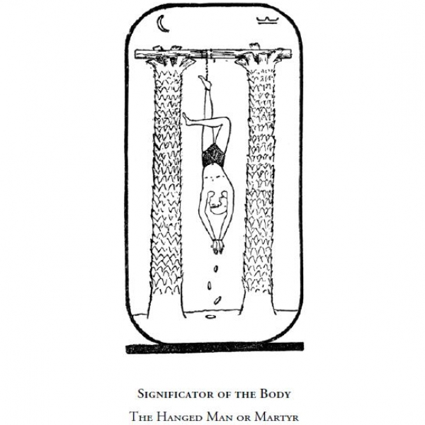 Significator of the Body - The Hanged Man or Martyr (Arcanum No. XII)