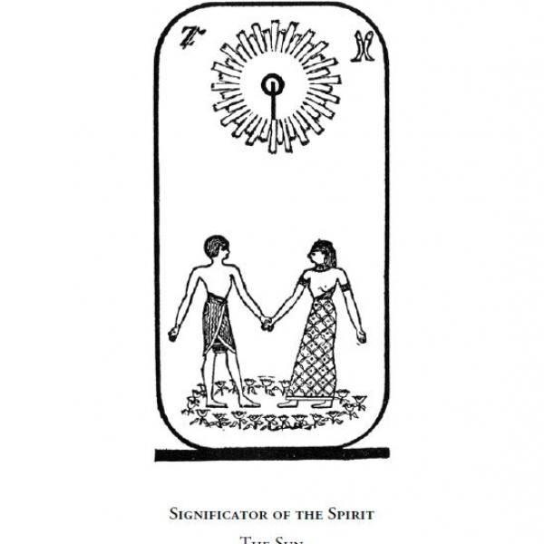 Significator of the Spirit - The Sun (Arcanum No. XIX)