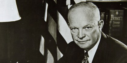 Dwight Eisenhower and Alien Contact in the 1950s