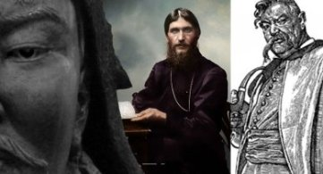 Historical Figures Who Were Harvested into 4th Density 'Negative Path': Genghis Khan/Rasputin/Taras Bulba
