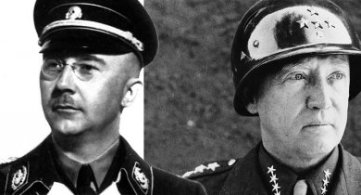 Heinrich Himmler and General George S. Patton