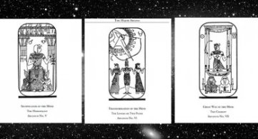 Brief Description or Understanding of The Hierophant, The Lovers and The Chariot